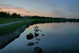 Sunset at Poolsbrook Park
