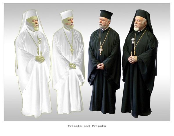 Priests x 4 by WimdeVos