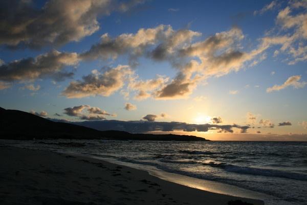 Sunset, Isle of Barra by Burnzie