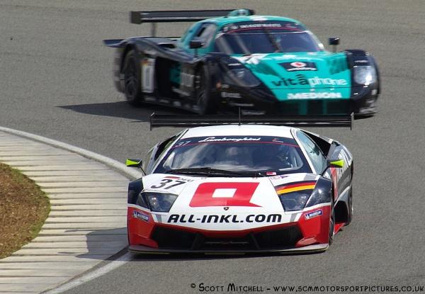 Lambo vs Maserati - FIA GT1 by motorsportpictures