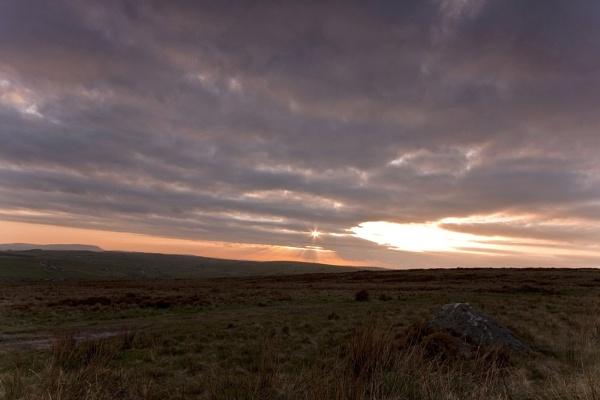 Moorland Sunset by Warriorpoet