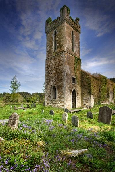 Castlemacadem Church, Wicklow by SashaB