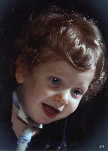 Karter.....1 yr. old Great Grandson. by marion404