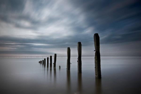 Sea Mist And Standing Giants by Palmerjoss