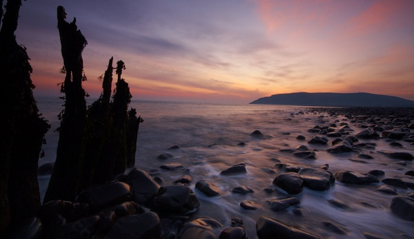 Porlock sunrise by strawman