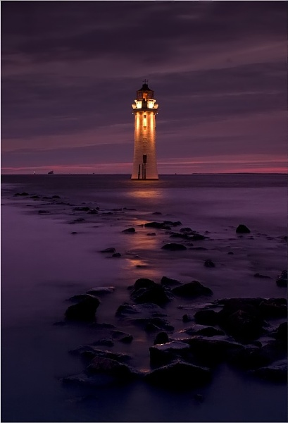 Classic Lighthouse by Anthony