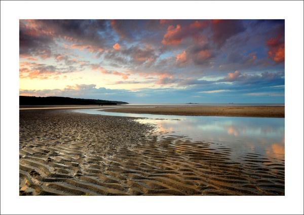 Lligwy Sunset by Alfoto