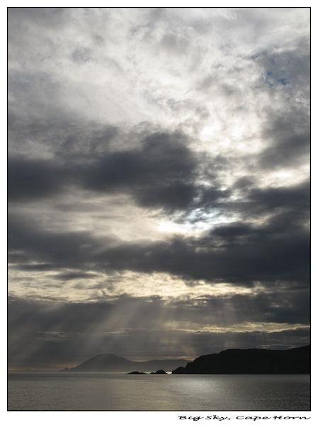 Big Sky, Cape Horn by thebigA