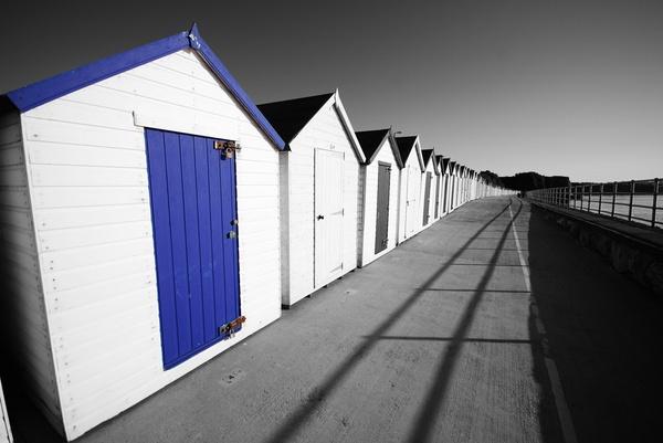 Blue Hut Row by mjb22