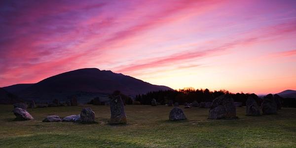Castlerigg dawn by treblecel