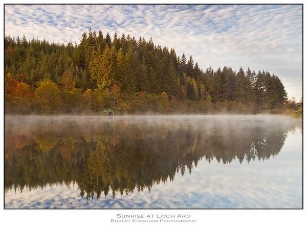 Sunrise at Loch Ard by Strax