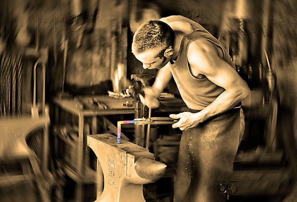 The Blacksmith by DaveShandley