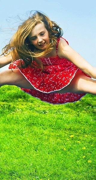 Summer Leap by Debbiee
