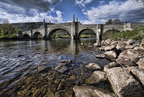 Wade\'s Bridge, Aberfeldy by Chrysis
