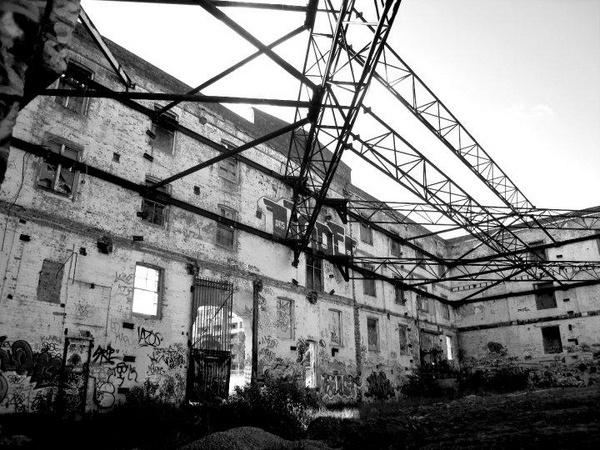 Flour Mill Facade by roy2d2
