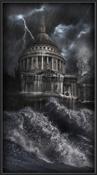St Pauls Storm by Morpyre