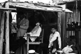 The Barber by kbtimages
