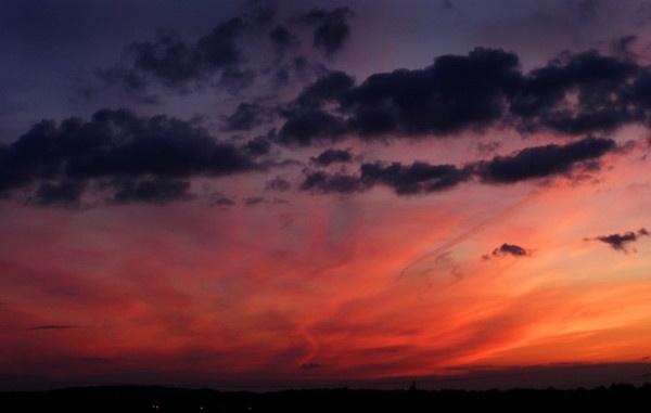 BLAZING SKY SUN SET by cobra1