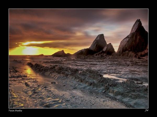 Twin Peaks by jer