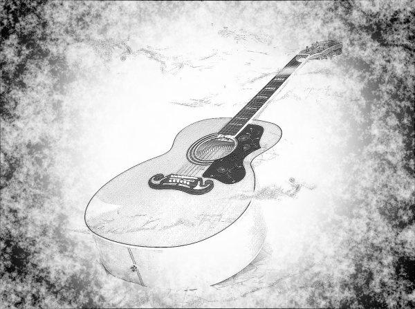 Epi\'  guitar by gerrymac