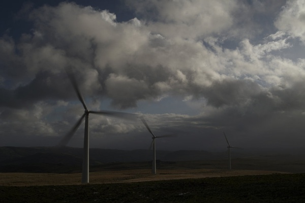 Carno Wind Turbines by Aggers