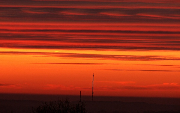 Transmitted Sunrise by paulmeyer