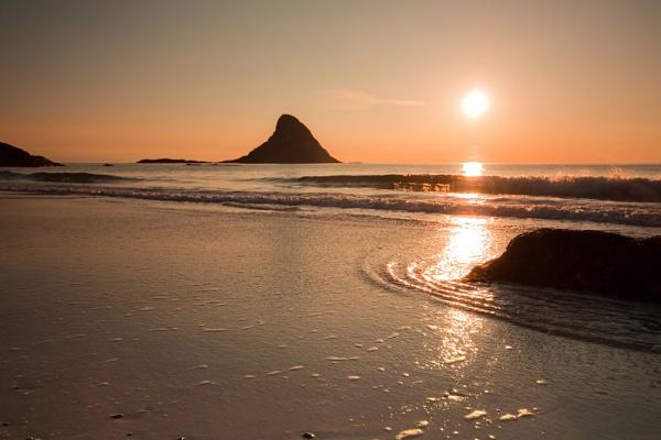 Bleik in Sunset by bjornval