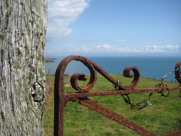 Rusty Welsh Gate by SteveBaz