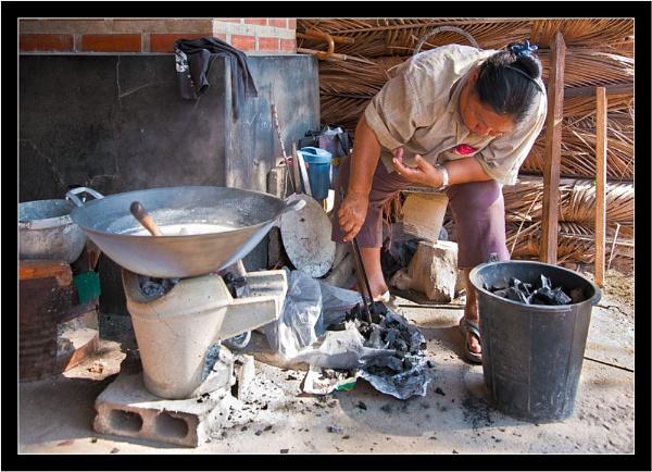 Thai Sugar Maker by old timer