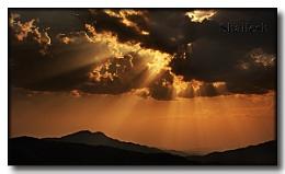 Sun + Clouds = Rays