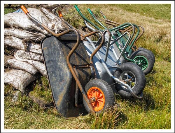 Wheelbarrows by AlanTW