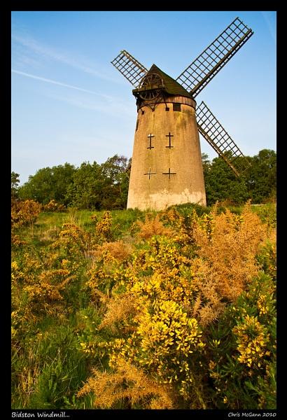 Bidston Windmill... by mcgannc