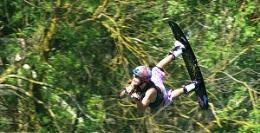 flying waterski-er