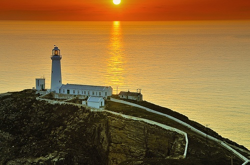 South Stack Lighthouse by markyoulden
