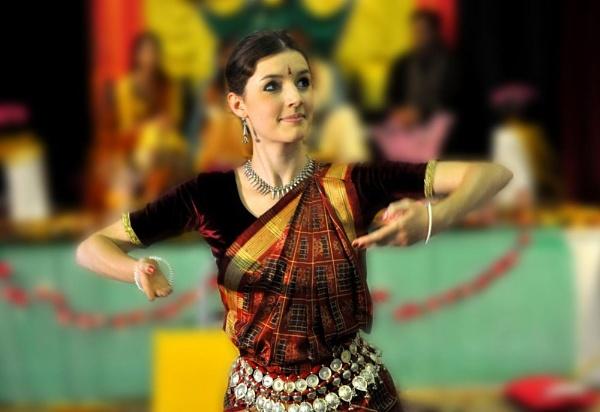 Indian Dancer by Bluebiriyani