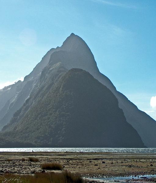 Mitre Peak by Sasanach