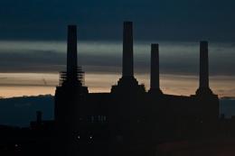 Battersea Power at Dusk