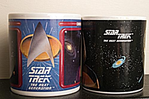 Startrek Mugs by minicooper