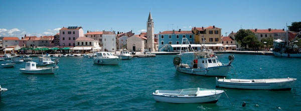 Croatian waterfront by eldroyd