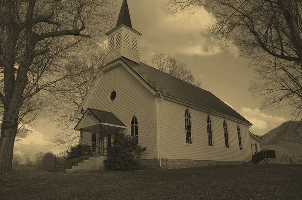 Little Church On The Hill by Lauramorris