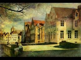 Bruges-Lange rei- Genthof.