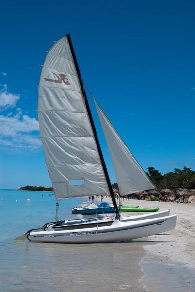 Sailboat in Varadero by FunnyTrickster
