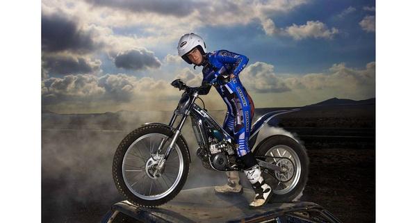 Trial Bike Rider lanzarote by avisuali