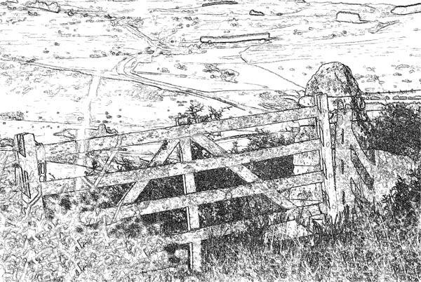 Old Gate by asrobi