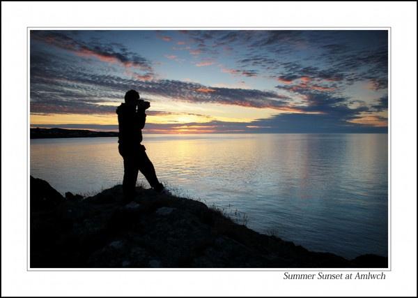 Summer Sunset by Alfoto
