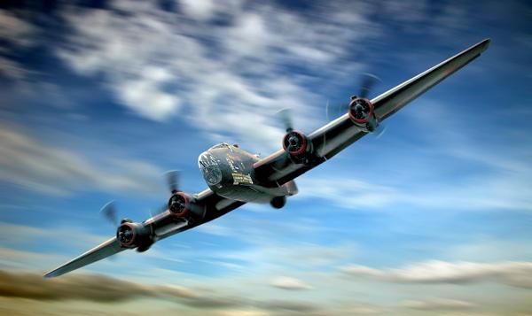 WW2 Halifax Bomber by Tonksfest
