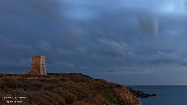 Ghakn Tuffieha Tower by MartinAgius