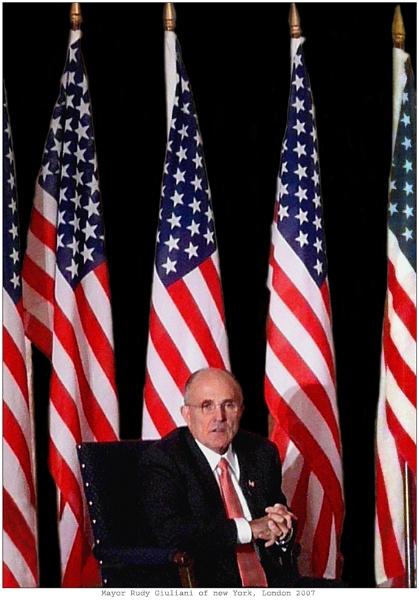 Mayor Rudy Giuliani of new York by WimdeVos