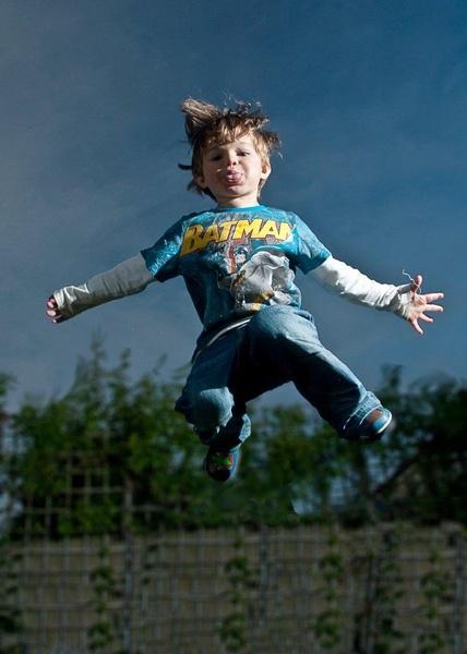 Cheeky Superhero by TomHarper