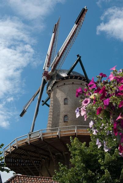 Windmill Sluis, Holland by essexdean